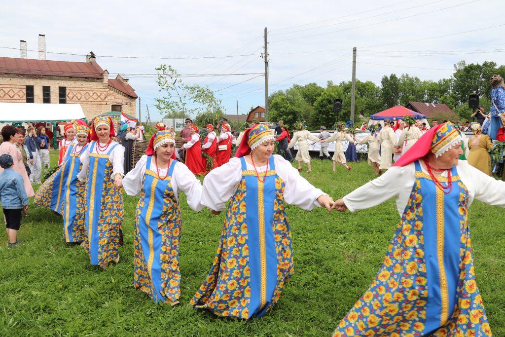 Фольклорный фестиваль «Троицкие гуляния». Видеоотчет